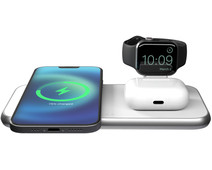 ZENS 3-in-1 Wireless Charger 15W for MagSafe White