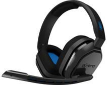 Astro A10 Gaming Headset voor PC, PS5, PS4, Xbox Series X|S, Xbox One - Zwart/Blauw