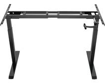 Euroseats Slinger verstelbaar zit-sta frame zwart