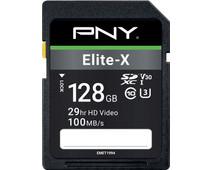 PNY Elite-X SDXC Memory Card 128GB 100MB/s