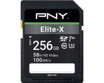 PNY Elite-X SDXC Memory Card 256GB 100MB/s
