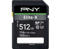 PNY Elite-X SDXC Memory Card 512GB 100MB/s