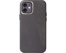 Decoded Dual Apple iPhone 12 mini Back Cover Leer Zwart