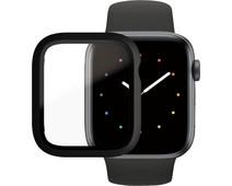 PanzerGlass Full Body Apple Watch Series 6, SE, 5 en 4 44mm Screenprotector Glas Zwart