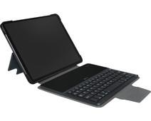 Gecko Keyboard Cover Apple iPad Air (2020) Toetsenbord Hoes QWERTY Zwart