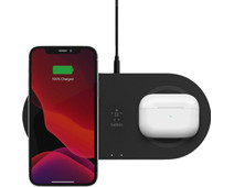 Belkin Boost Up Dual Pad Wireless Charger 15W Black
