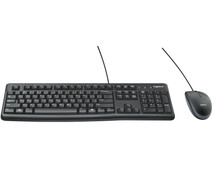 Logitech MK120 Keyboard and Mouse QWERTY