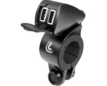 Lampa USB Fix Trek Universal Charger Motorcycle with 2 USB-A Charging Ports
