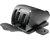 Lampa USB Fix Trek 2 Universal Charger Motorcycle with 2 USB-A Charging Ports