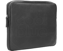 BlueBuilt 14 inch Laptophoes breedte 32 cm - 33 cm Leer Zwart