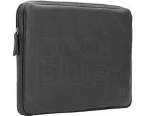 BlueBuilt 14 inch Laptophoes breedte 33 cm - 34 cm Leer Zwart