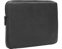 BlueBuilt 15 inch Laptophoes breedte 34 cm - 35 cm Leer Zwart