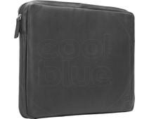BlueBuilt 17 inch Laptophoes breedte 40 cm - 41 cm Leer Zwart