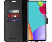 Valenta Gel Skin Samsung Galaxy A52 Book Case Black