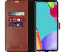 Valenta Gel Skin Samsung Galaxy A52 Book Case Bruin