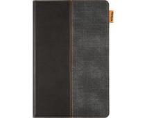Gecko Color Twist Samsung Galaxy Tab A7 (2020) Book Case Black/Gray