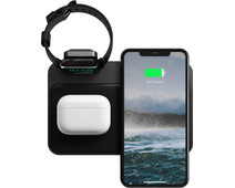 Nomad Base Station 3-in-1 Draadloze Oplader 7,5W met Apple Watch Oplader