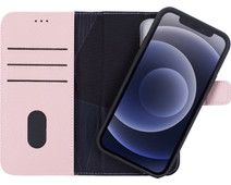 Decoded Apple iPhone 12 / 12 Pro 2-in-1 Case with MagSafe Leather Pink
