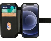 BlueBuilt iPhone 12 mini Book Case Leer Zwart