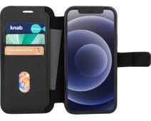 BlueBuilt iPhone 12 / 12 Pro Book Case Leer Zwart