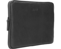 BlueBuilt Laptop Cover Leather Black / For 13-inch Apple MacBook Air/Pro