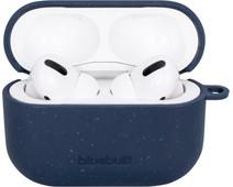 BlueBuilt Hoesje voor AirPods Pro Composteerbaar Donkerblauw