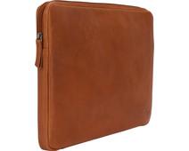 BlueBuilt 15-inch Laptop Cover Width 36 - 37cm Leather Cognac
