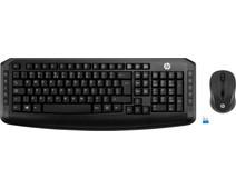 HP Draadloos Toetsenbord en Muis 300 QWERTY