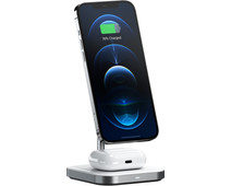 Satechi 2-in-1 Wireless Charger with MagSafe Magnet 7.5W