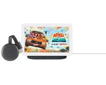 Google Nest Hub 2 Charcoal + Chromecast V3