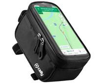 Celly Weatherbike Universele Waterdichte Telefoonhouder met Hoesje Fiets Stuur