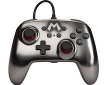 PowerA Enhanced Bedrade Nintendo Switch Controller Mario Zilver