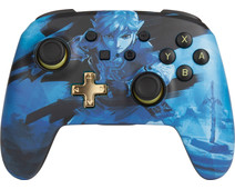 PowerA Enhanced Draadloze Controller Link Blue Nintendo Switch