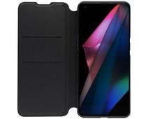 OPPO Find X3 Pro Book Case Black