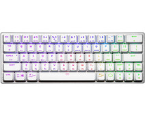 Cooler Master SK622 Mechanische Gaming Toetsenbord White TTC Low Profile Red Qwerty