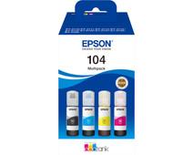 Epson 104 Inktflesjes Combo Pack Kleur