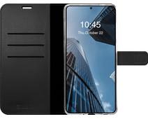 Valenta Gel Skin Samsung Galaxy S20 FE Book Case Leather Black