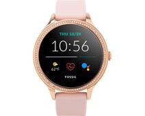 Fossil Gen 5E Display FTW6066 Rose Gold/Pink 42mm