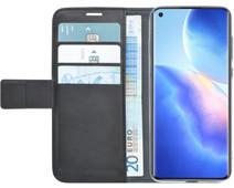 Azuri Wallet Oppo Find X3 Neo Book Case Zwart