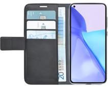 Azuri Wallet OnePlus 9 Book Case Zwart