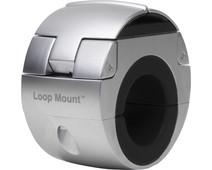 Loop Mount Universele Telefoonhouder Fiets Stuur Klem Zilver