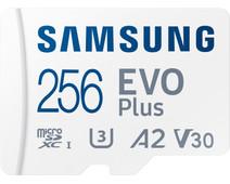 Samsung EVO Plus 256GB microSDXC UHS-I U3 130MB/s Full HD &4K UHD MemoryCard with Adapter