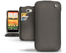 Noreve Tradition D Leather Case Black HTC One X / Plus