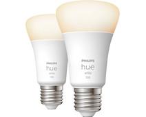 Philips Hue White E27 10.5W Duo pack