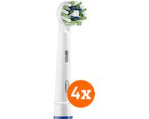 Oral-B CrossAction Opzetborstel 4 Stuks