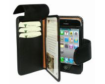 Piel Frama Leather Wallet Apple iPhone 5 / 5S Black