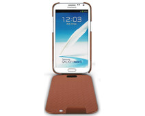 Noreve Tradition Leather Case Samsung Galaxy Note 2 Brown