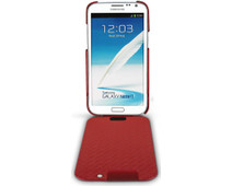 Noreve Tradition Leather Case Samsung Galaxy Note 2 Red