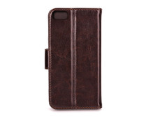 Xqisit Wallet Case Eman Apple iPhone 5/5S/SE Brown