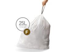 Simplehuman Afvalzakken Code F - 25 Liter (20 stuks)